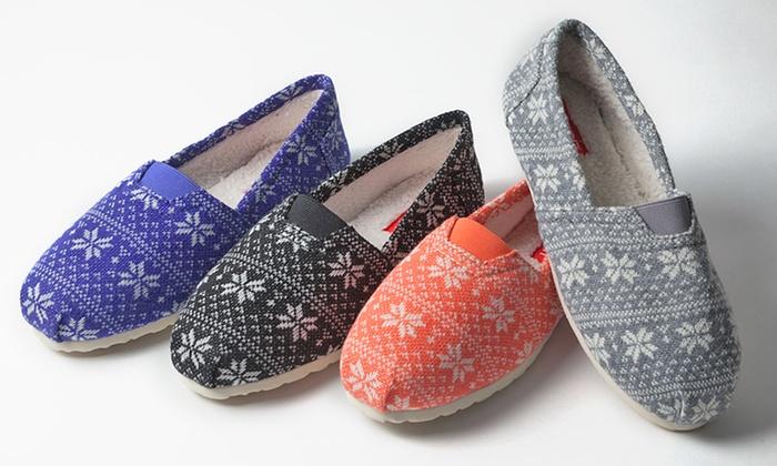 Esprit Women's Snowflake Flats