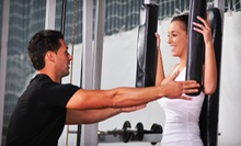 Four Personal-Training Sessions for One or Two at Express Fit (Up to 83% Off)