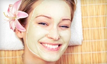 Mini Facial and Peel with Option for Eye Treatment or Eye Treatment and Mask at A New Derma Clinic (Up to 60% Off)