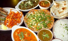 Indian Dinner and Drinks for Two or Four at East India Grill (Half Off)