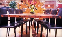 Handmade Artisan Furniture at Jamieson Imports (Up to 51% Off). Two Options Available.