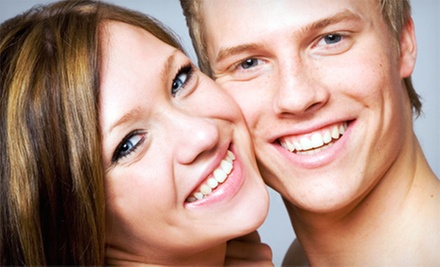 $29 for a 45-Minute Teeth-Whitening Treatment with a Take-Home Tray at Pearly Whites Express ($154 Value)