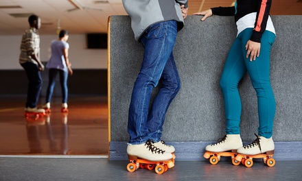 Roller Skating with Skate Rental for Two, Four, or Eight at Lynnwood Bowl & Skate (55% Off)