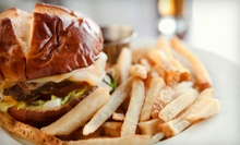 American Meal with Appetizers, Entrees, and Beer for Two or Four at Left of Centre Sports Cafe (Up to 63% Off)