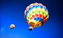 $249 for a Hot Air Balloon Excursion and Champagne Picnic for Two from SunKiss Ballooning ($500 Value)