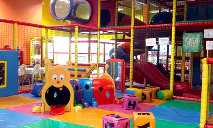 Scallywags Indoor Play Limited - Multiple Locations: Children's Soft-Play Entry With Snack and Drink from £3 at Scallywags
