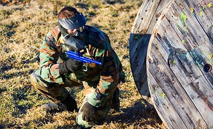 Paintball Outing for Four, Eight, or Ten at Sylvan Lake Paintball in Benalto (Up to 56% Off)