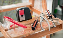 Home-Repair Tools and Materials at Indy Nut House (Half Off). Three Options Available.