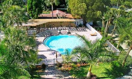 groupon daily deal - 2-Night Stay with Fishing-Charter Credit at Pirate's Pointe Resort in Tampa Bay, FL