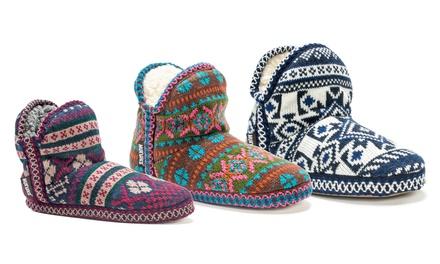 Mukluk Pattern Amira Women's Slipper