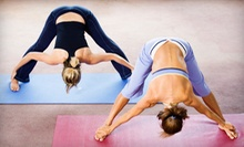 5 or 10 Yoga Classes or 30 Days of Unlimited Classes at V Power Yoga (Up to 63% Off)