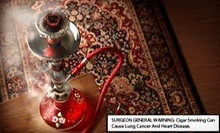 Hookah Night for Two or Four with Mediterranean Sampler Platter and Tea at Zeeba Lounge (Up to 53% Off)