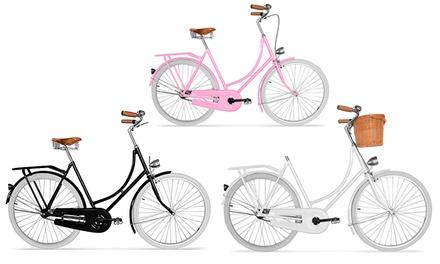 Bicicleta de passeio Urban Design disponível em dois modelos distintos por 209€