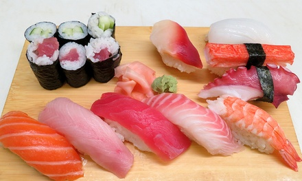 Sushi and Asian Cuisine for Dinner or Carry-Out at Kai Japanese and Asian Cuisine (Up to 75% Off)