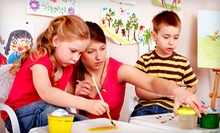 One, Two, or Three-Day Summer Art Camp for Kids at The Pitter Platter (Up to 52% Off)