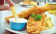 Fresh Seafood and Chicken at The Fish Fry House (Up to 53% Off). Two Options Available.
