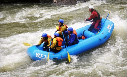 $59 for One-Day Whitewater-Rafting Trip on the South Fork American River Chili Bar from W.E.T. River Trips ($119 Value)
