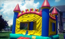 Bounce-House Rental, Inflatable-Waterslide Rental, or Both from Heads Up Inflatables (Up to 56% Off)