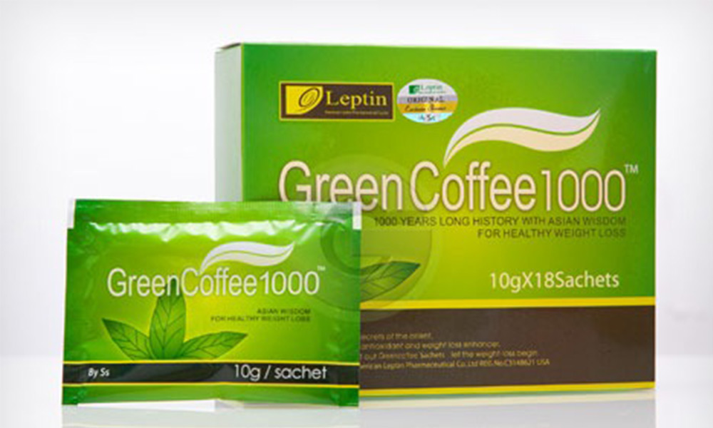 Up to 64% Off] Leptin Green Coffee 1000 from RM60 for 2 Boxes