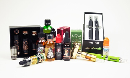 $13 for $25 Worth of e-Cigarettes and Accessories at Vulcan Vape