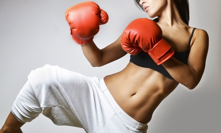 One or Two Months of Unlimited Kickboxing or Boot Camp Classes at Max Combat Fitness (Up to 63% Off)