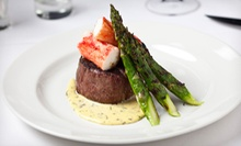$40 for $80 Worth of Aged USDA-Prime Steaks, Fresh Fish, and Wine for Dinner at 801 Chophouse