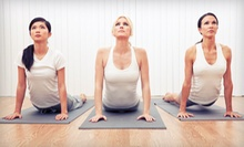 5 or 10 Yoga Classes at Go Inside Yoga Studio (Up to 55% Off)
