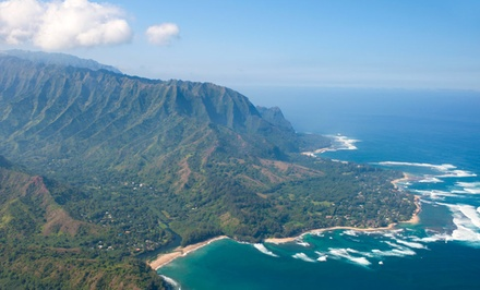 groupon daily deal - 3-, 5-, or 7-Night Stay for Up to Four in a One-Bedroom Suite at The Cliffs At Princeville on Kauai, HI