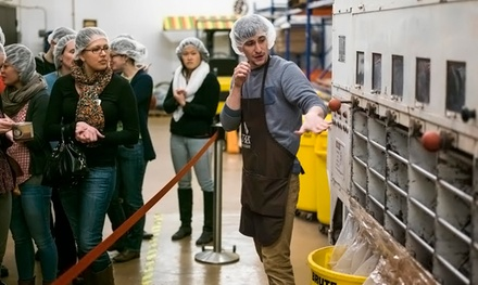 $9 for a Factory Tour for Two with Take-Home Chocolate at Taza Chocolate ($17 Value)