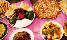 Mediterranean Fare and Drinks at Eba's Lounge and Bistro (Up to 59% Off)