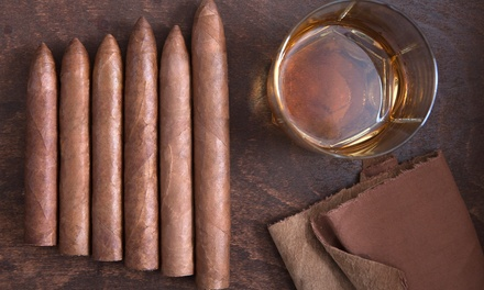 Cigars and Accessories at Stogies World Class Cigars (50% Off). Two Options Available.