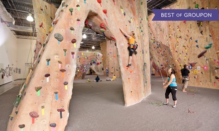 Indoor Rock-Climbing Package for Two or Four at Inner Peaks (Up to 41% Off)