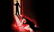 $99 for a Four-Course Murder-Mystery Meal for Two with T-shirts from The Dinner Detective ($200 Value)
