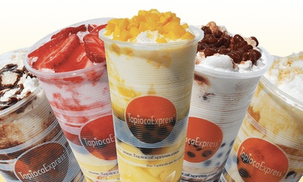 $14 for Four Groupons, Each Good for $5 Worth of Asian Snacks and Drinks at Tapioca Express ($20 Value)