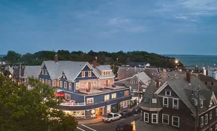 groupon daily deal - 2-Night Stay for Two with Prosecco, Beer Tastings, and Extended Parking at Woods Hole Inn in Cape Cod, MA