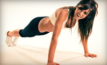 Four-Week Boot Camp for One or Two or Five One-Hour Personal Training Sessions at Fitology (Up to 78% Off)