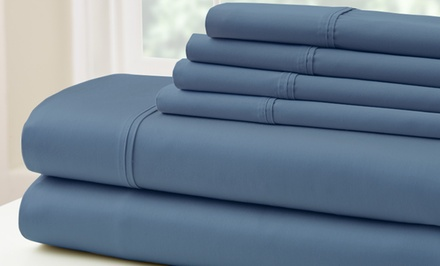 groupon daily deal - 500TC Egyptian Cotton Rich Sheet Set. Multiple Sizes from $44.99–$44.99. Free Returns.