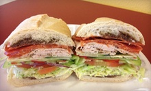 $9.99 for Two Sandwiches with Drinks and Choice of Side at San Francisco Style Sourdough Eatery (Up to $19.98 Value)