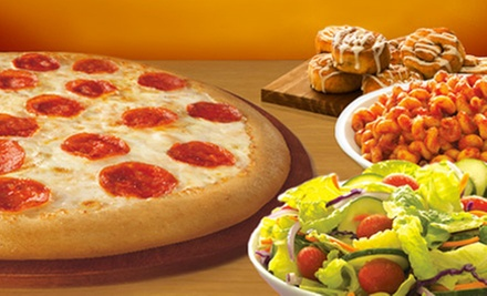Three Groupons, Each Good for the Pizza Buffet for Two or Four People at CiCis Pizza (Half Off)