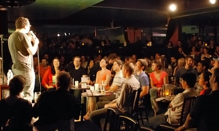 Standup for Two or Four with Optional Dinner at Absolute Comedy (Up to 52% Off)