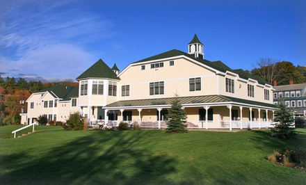 groupon daily deal - 2-Night Stay for Two in a King Suite at Snowflake Inn in Jackson, NH