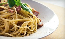 Italian Food at Grappa Restaurant (Half Off). Two Options Available.