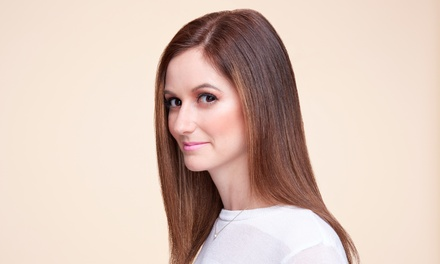 Cut and Highlights with a Glaze Treatment, or a Keratin Treatment at Xar Hair Salon (Up to 58% Off)