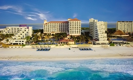 Groupon Deal: 3-, 4-, or 5-Night All-Inclusive Stay for Two in a Deluxe Room at GR Solaris Cancun in Mexico. Incl. Taxes & Hotel Fees.