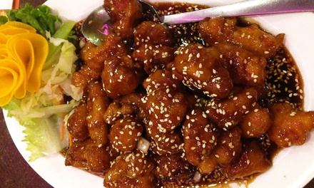 $13 for $20 Worth of Chinese Food at Three Happiness