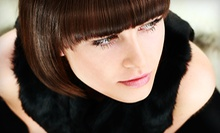 Haircut, Shampoo, and Blow-Dry with a Junior, Senior, or Master Stylist at Topps Salon Day Spa (Up to 55% Off)