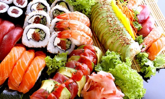 Origami - Lisboa: Origami - Príncipe Real: jantar de sushi para duas pessoas por 29,90€ em vez de 72,60€