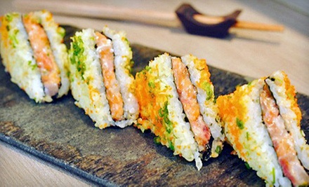 Sushi and Hibachi Cuisine at Hana Sushi House (Half Off). Two Options Available.