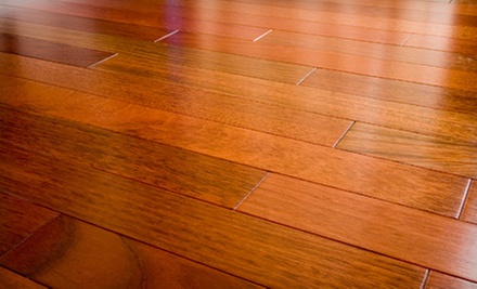 Carpet or Hardwood-Floor Materials and Installation from Elegant Flooring (Up to 67% Off)