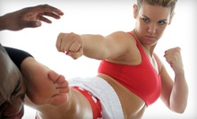 One or Three Months of Unlimited Women's Kickboxing Classes at Randori Jiu-Jitsu (71% Off)